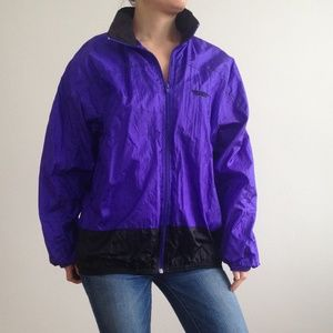 VINTAGE Northern Climate - Purple Windbreaker